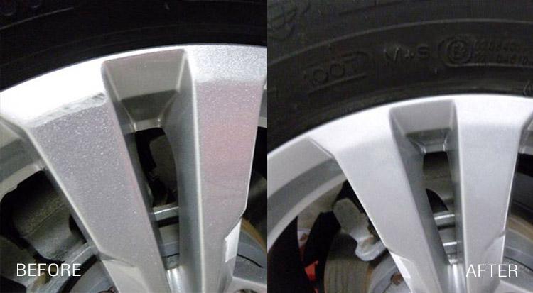 Wheel Refinishing Services - Los Angeles, Atlanta, Denver